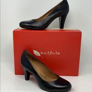 Women's Nurture Marjorrie Black Sz7 Heels